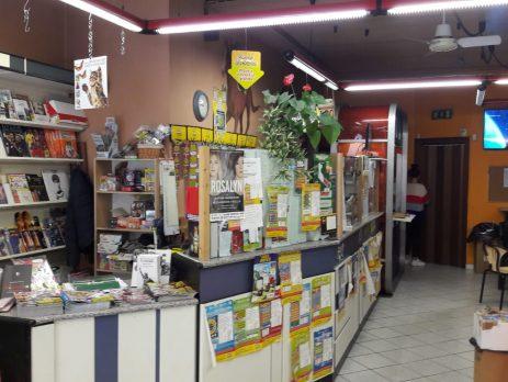 Centro scommesse edicola a Made, Pavia