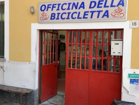 Officina della bicicletta, Vimodrone, Milano