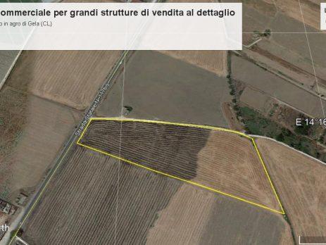Terreno commerciale grandi strutture. Asta telematica, Gela, Caltanissetta