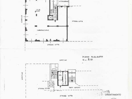 Vendesi 190 mq di Laboratori, Sesto San Giovanni Via Confalonieri