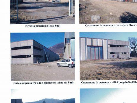 capannoni industriali con annesso piazzale, Rieti