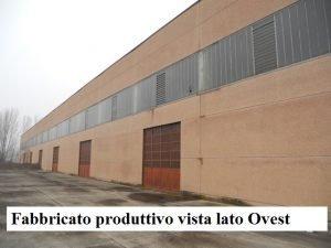 Fabbricato industriale più villa padronale ed area recintata 16000mq
