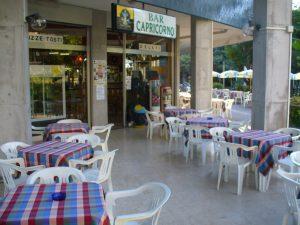 Bar pasticceria gelateria Grado Pineta fronte mare