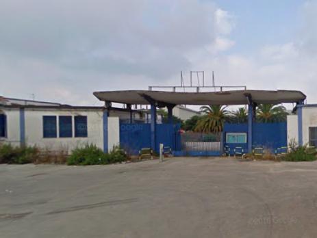 Capannone industriale e terreno, superficie totale 69700 mq, Sparanise, Caserta