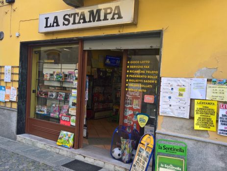 Tabaccheria Edicola Via Ivrea, Candia Canavese, Torino