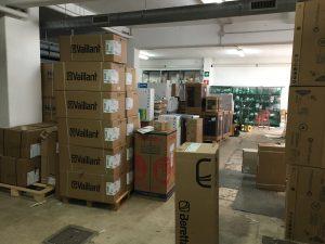 Vendesi negozio termoidraulica con scorte di magazzino, Roma