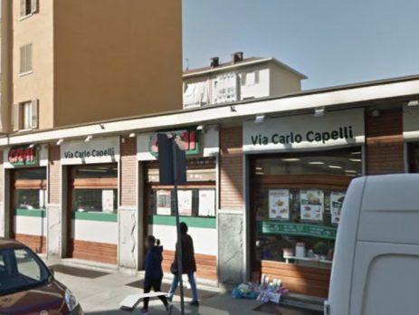 Vendita supermercato alimentare marchio Crai, Torino