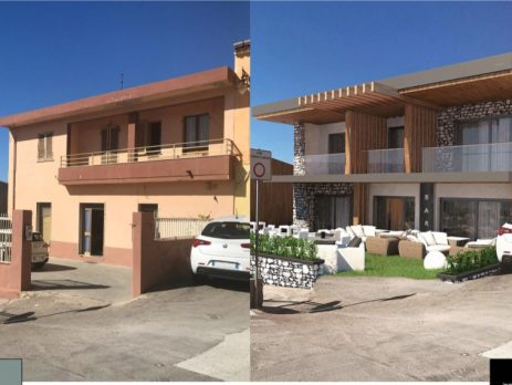 Villa sul mare uso bar ristorante, Castelsardo, Sassari