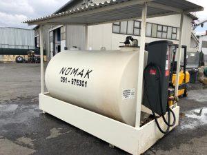 Cisterna gasolio numak 5000 LT, Roma