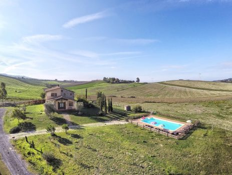 Casale, ristrutturato, in toscana con terreno edificabile, Castellina Marittima, Pisa