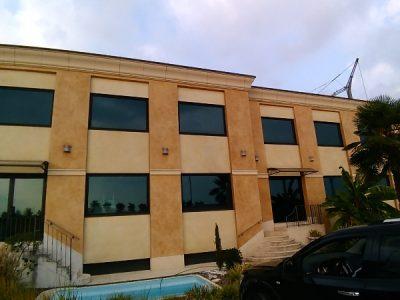 Show room, fronte autostrada Mi-VE, Ospitaletto, Brescia