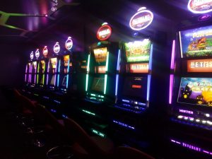 Bellissima sala slot machine VLT, Padula, Salerno