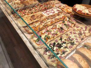 Negozio pizza al taglio, panetteria e pasticceria, Parma