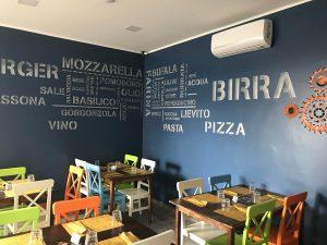 Pizzeria ristorante con spazio esterno, Torino