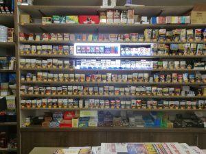 Tabaccheria e ricevitoria lotto, Aosta
