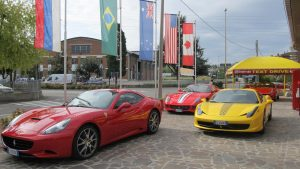 Ferrari Rental car in Maranello, Modena