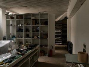 Magazzino e garage in centro città, Rieti