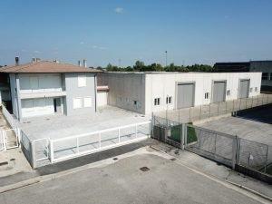 Capannone uffici e abitazione, Longare, Vicenza