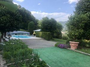 Villa con piscina, San Germano Chisone, Torino
