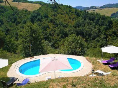 Bellissimo casale con piscina e parco, Urbino