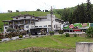 Laboratorio produzione salumi, Langhirano, Parma