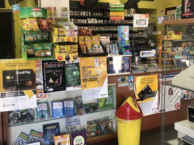 Tabaccheria edicola sala slot, Sandigliano, Biella